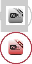Gratis WiFi im Wartebereich